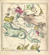 Constellations October - December, Atlas Designed to Illustrate the Geography of the Heavens 1835